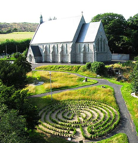 Labyrinth and Church