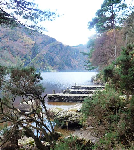 Lake at Glendalough